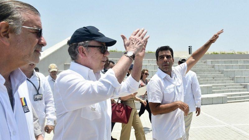 Presidentes Santos llega hoy jueves 5 de octubre a Barranquilla