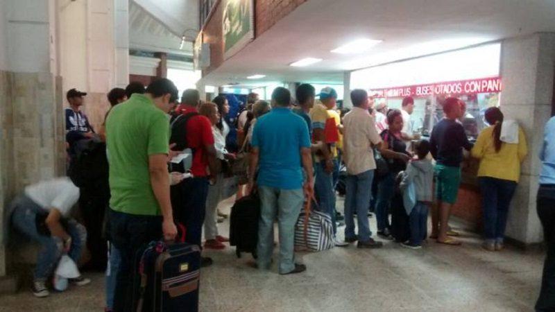Tras huelga de pilotos de Avianca aumenta flujo de pasajeros en Terminal de Transportes de Barranquilla