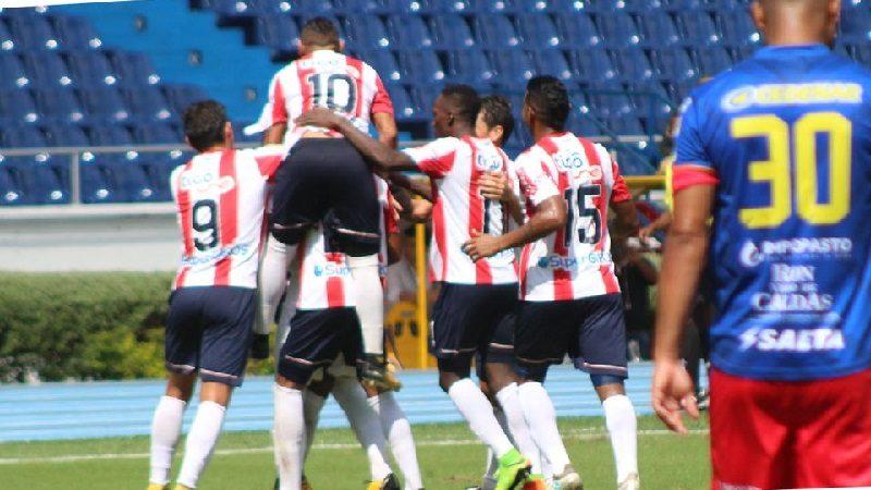 A puerta cerrada Junior venció 1-0 al Pasto y es líder de la Liga Águila II