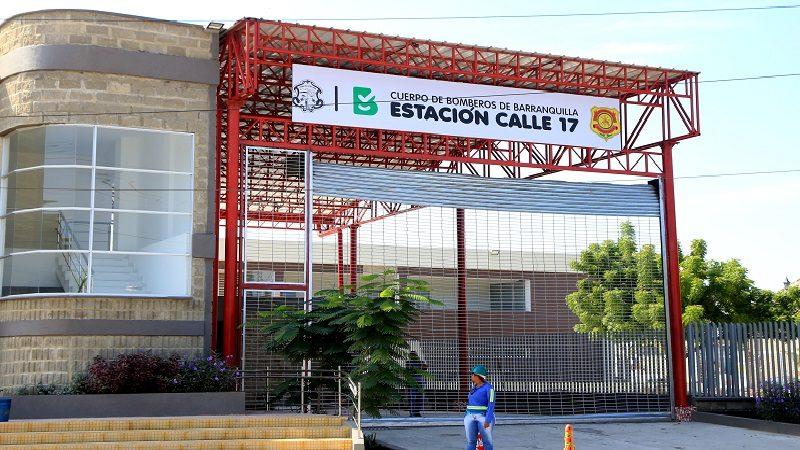 Alcalde Char entrega nueva Estación de Bomberos Calle 17