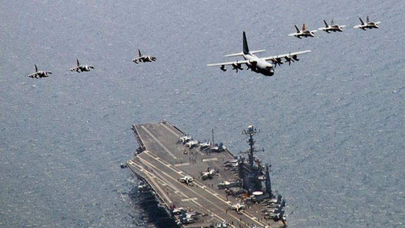 Avión de la Marina de EE.UU. cae al mar de Filipinas con 11 personas a bordo