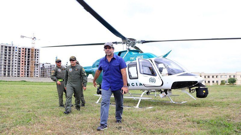 Barranquilla ya tiene helicóptero de última tecnología para reforzar la seguridad