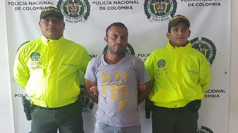Capturan en Cascajal, Atlántico a hombre buscado por un asesinato en Bogotá