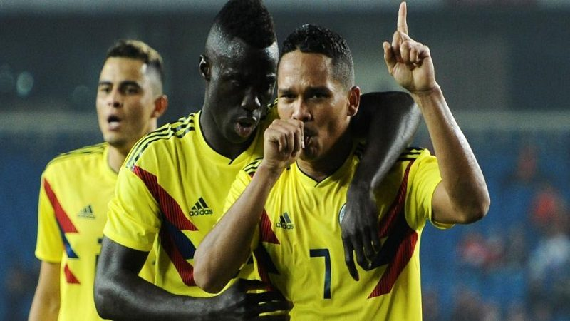 Colombia goleó 4-0 a China en partido amistoso