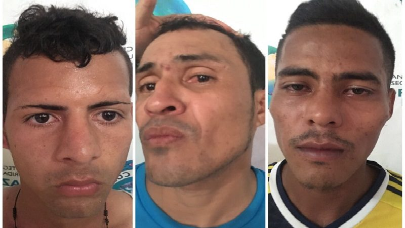 Estaban atracando un camión de Coca Cola en Villa San Pedro y los capturó la Policía
