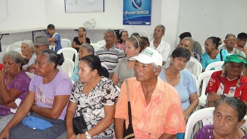 Este martes 7 de noviembre comienza pago del programa Colombia Mayor en Soledad 1
