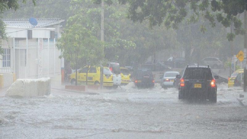 IDEAM mantiene alerta roja en Barranquilla por fuertes lluvias
