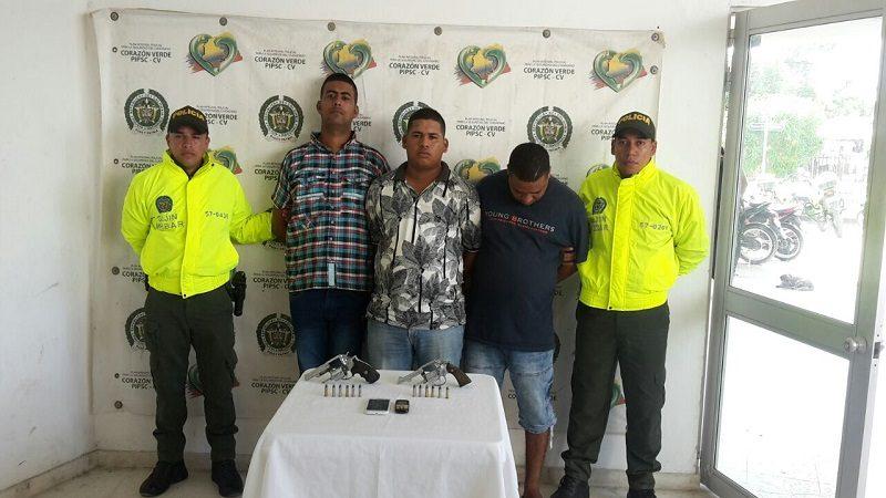 Iban a asaltar un carro de valores en Soledad y los capturó la Policía