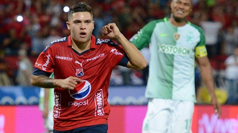 Juan Fernando Quintero se despidió de Independiente Medellín