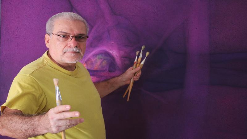 La Galería Plaza de la Paz se engalana para recibir obras del maestro Jorge Serrano