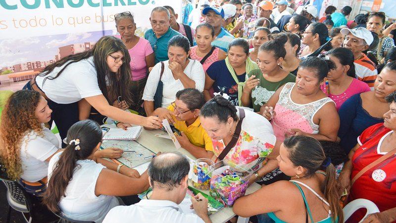 Más de 10 mil 800 personas visitaron la feria de vivienda en Soledad
