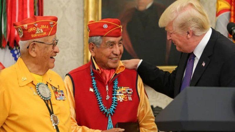 Polémica porque Trump llamó Pocahontas a Senadora Demócrata