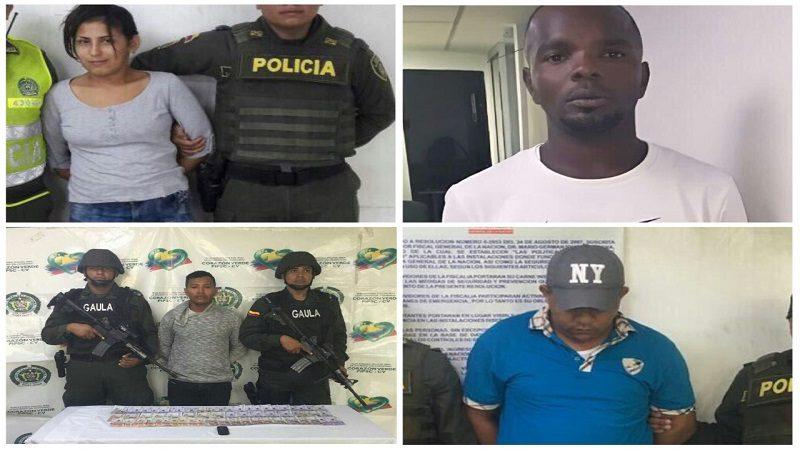 Policía captura a tres atracadores y un extorsionista en Barranquilla