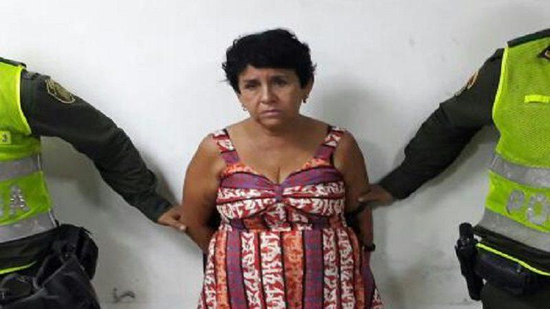 Por décima vez capturan a la 'Cucuteña, por robar a clientes de almacenes en Barranquilla