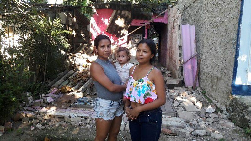 Se desploma vivienda en el barrio Villa del Rosario de Barranquilla