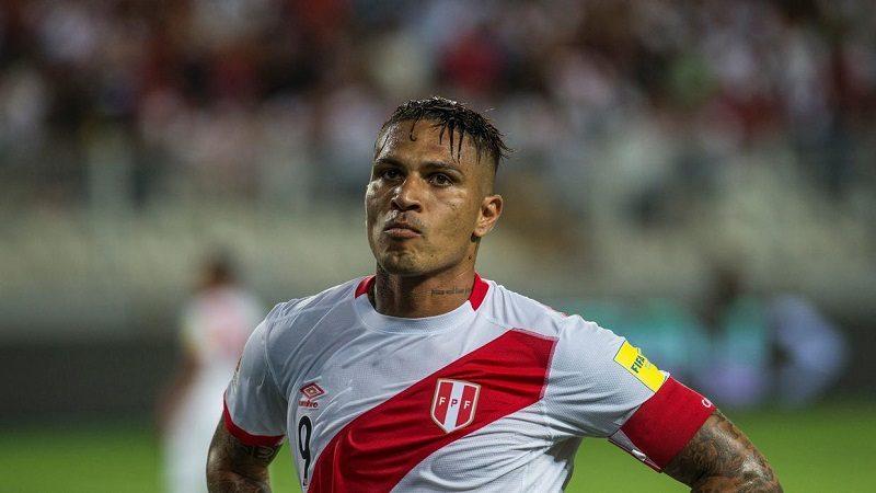 Suspenden por 30 días al peruano Paolo Guerrero por dopaje