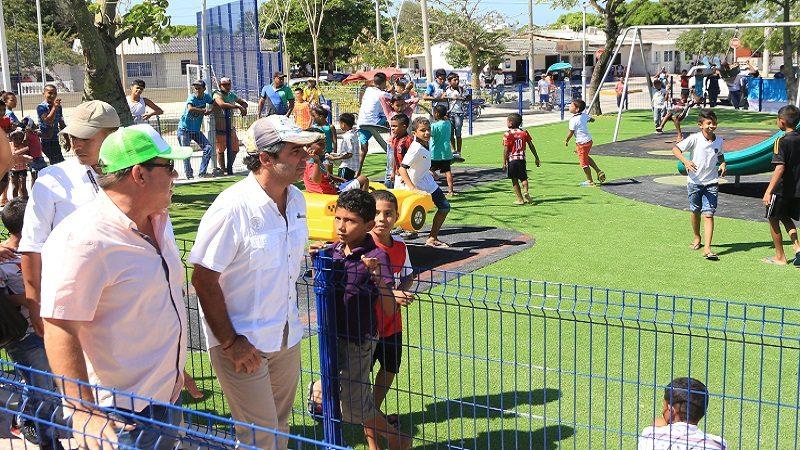Barrio Santa María estrena parque para más de 265.000 personas