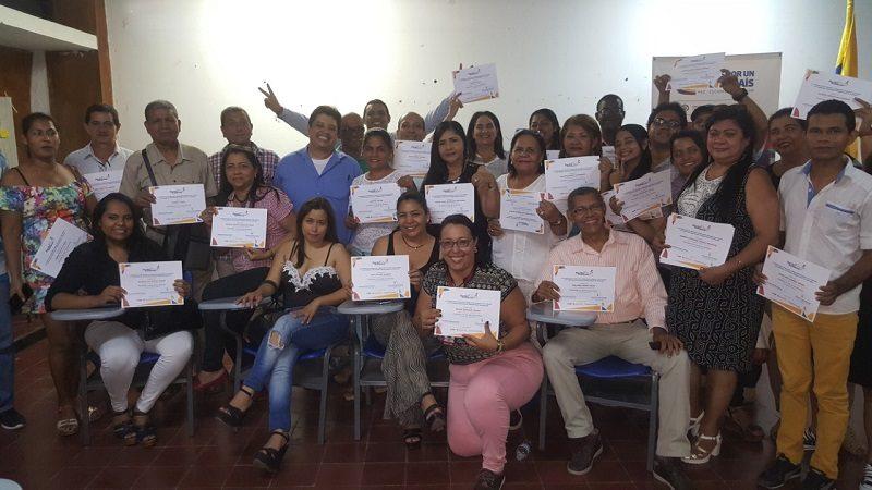 En Barranquilla, 92 víctimas del conflicto armado se gradúan como nuevos gestores de Paz