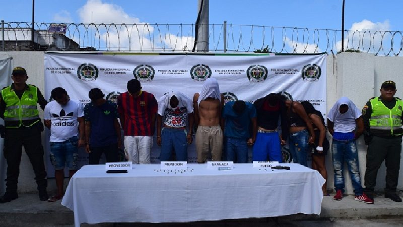 En medio de tiroteo y persecución cae banda delincuencial 'Los Barraguitas' en Luruaco