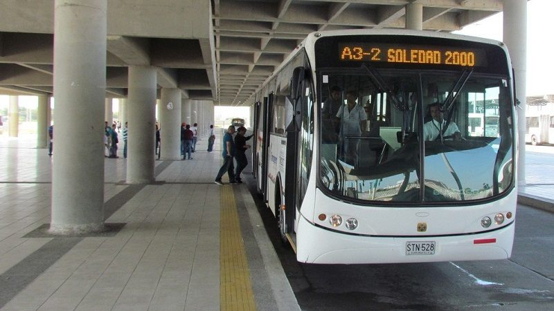 Transmetro implementa nuevo recorrido en la ruta A3-2 Soledad 2000