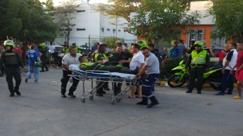 Al menos 6 policías heridos deja explosión en Estación del barrio San José
