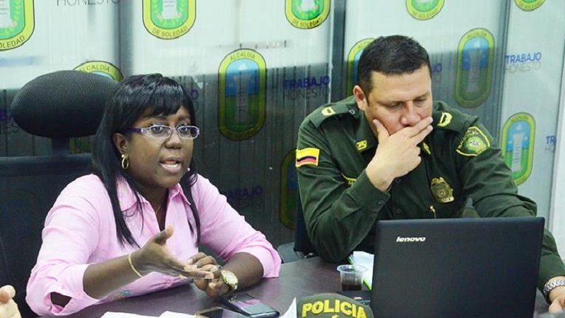 Alcaldía de Soledad y Policía investigan caso donde perdió la vida un escolta de carro de valores