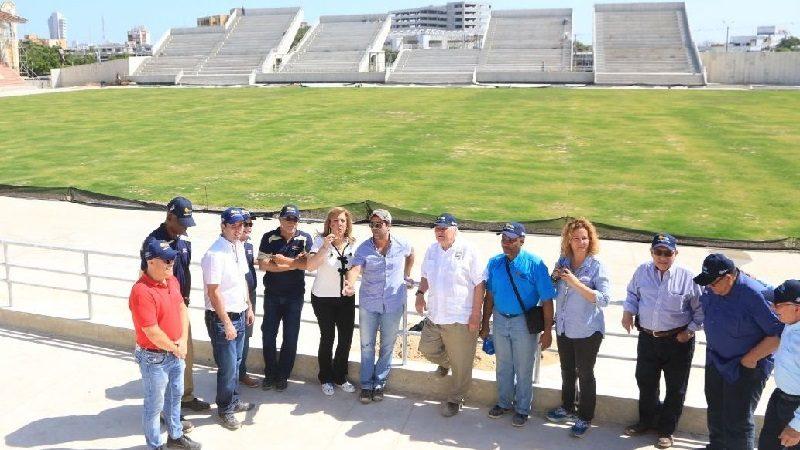 Alcaldía y Coldeportes recorrieron escenarios deportivos de Barranquilla