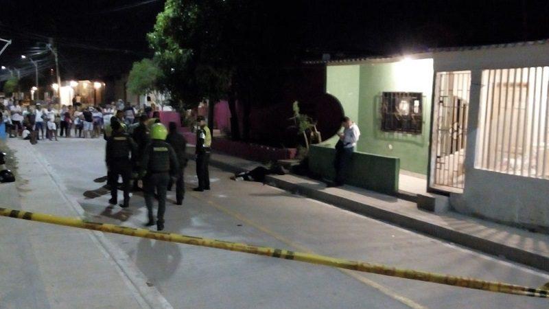 Asesinan a dos jóvenes en medio de una riña en el barrio Los Ángeles