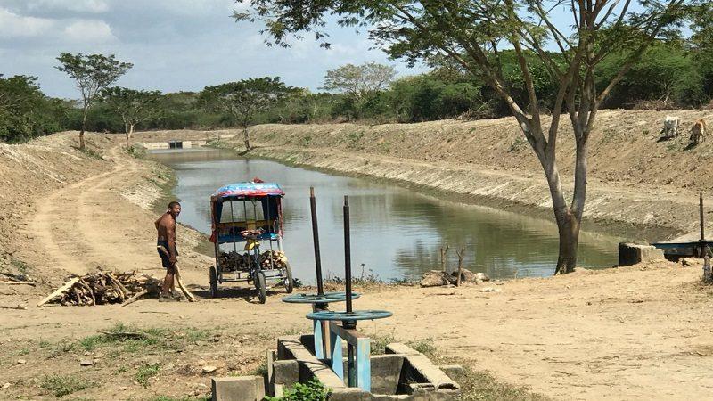 Avanzan obras de rehabilitación de distritos de riego en el sur del Atlántico