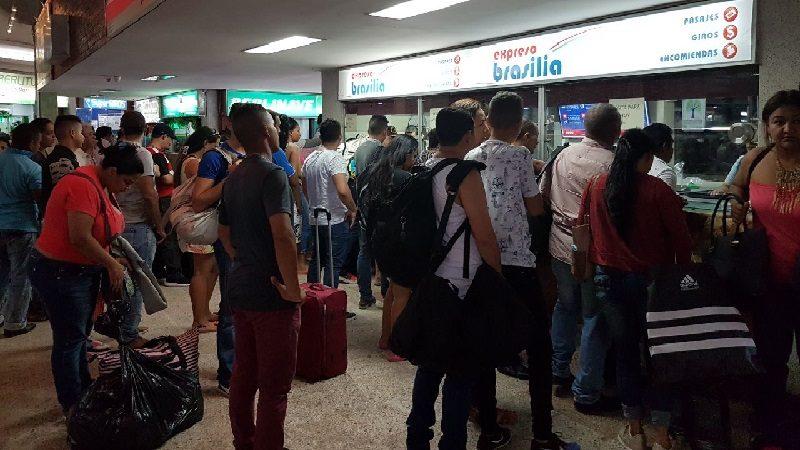 Brasilia y Unitransco reportan incremento en 16% de pasajeros transportados en los primeros días del año