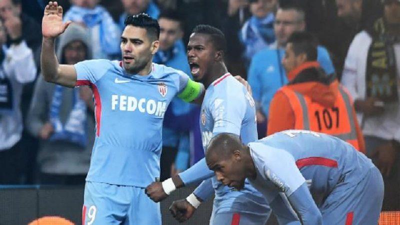 Con Falcao como titular, Mónaco empató 2-2 con el Marsella