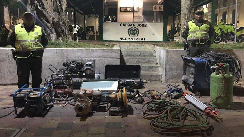 Con persecución por aire y tierra frustran robo en el barrio Villanueva