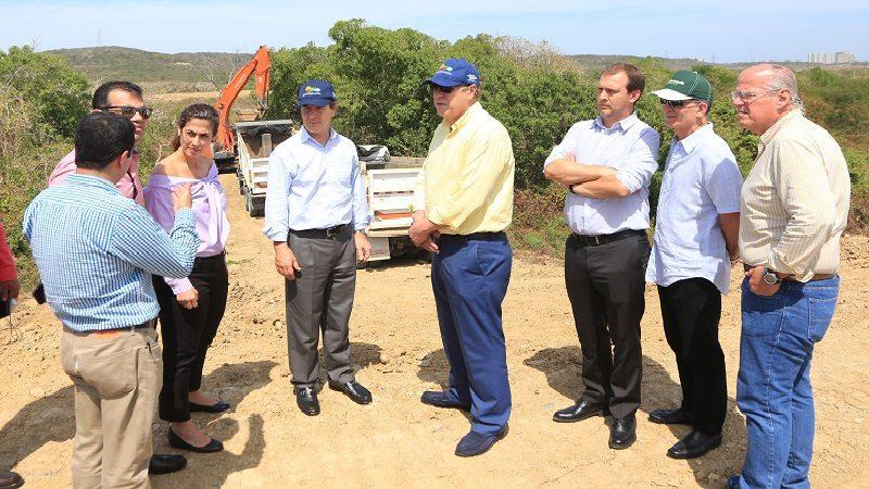 Distrito y Federación Colombiana de Fútbol visitaron predio del Centro de Alto Rendimiento