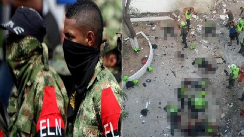 ELN se atribuye atentado terrorista en Barranquilla