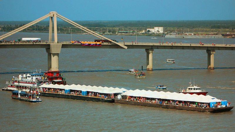 Este domingo 28 de enero, la Guacherna Fluvial engalana el río Magdalena
