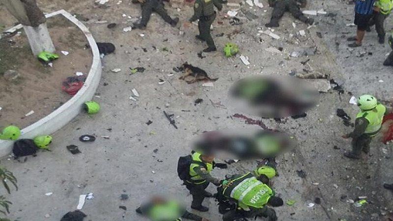 Estos son los nombres de los Policías muertos y heridos en atentado en Barranquilla
