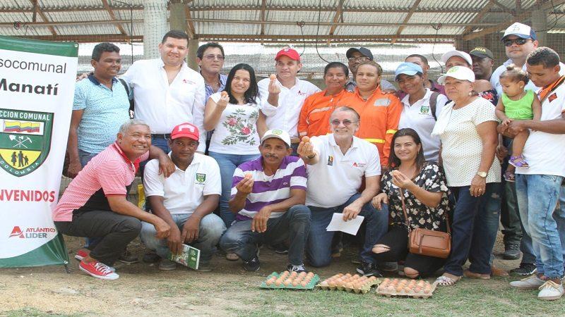 Gobernación pone a producir a las juntas de acción comunal de municipios