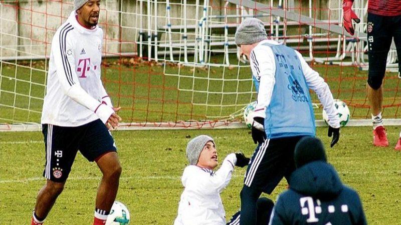 James Rodríguez peleó con Sebastián Rudy en entrenamiento del Bayern Múnich
