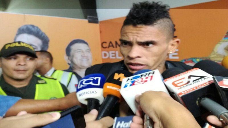 Jonatan Álvez llegó a Barranquilla para reforzar el ataque tiburón