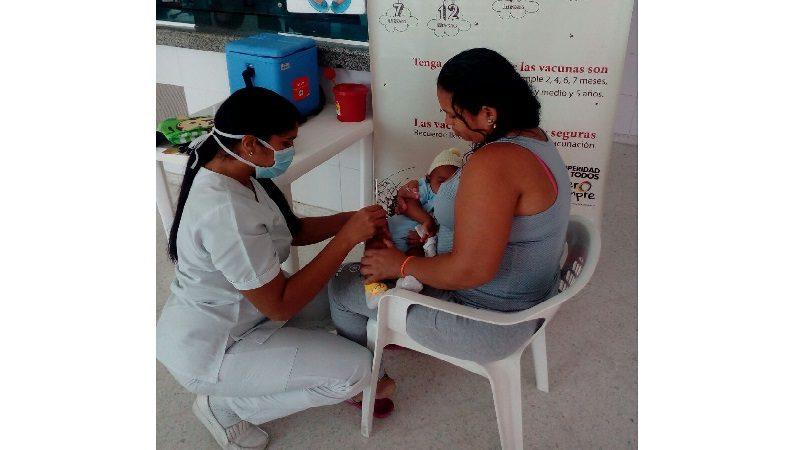 Más de 6.000 barranquilleros participaron de la Jornada Nacional de Vacunación