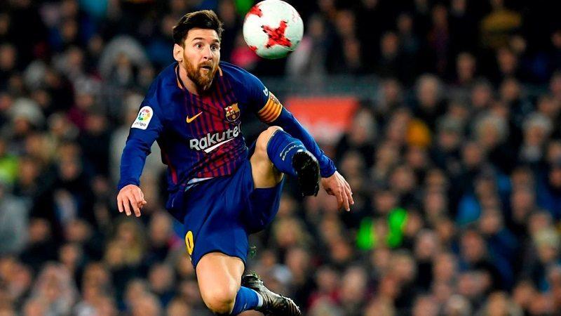 Messi anotó el gol 4.000 del Barcelona en el Camp Nou