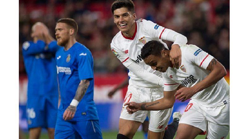 Muriel marcó un golazo que le dio el empate al Sevilla frente al Getafe