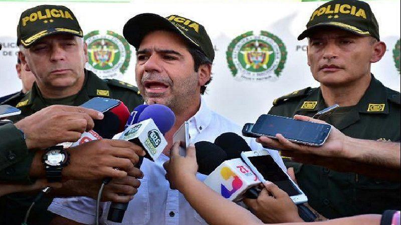 """No nos vamos a dejar"""", alcalde Char, al repudiar atentado contra Estación de Policía en barrio San José"""