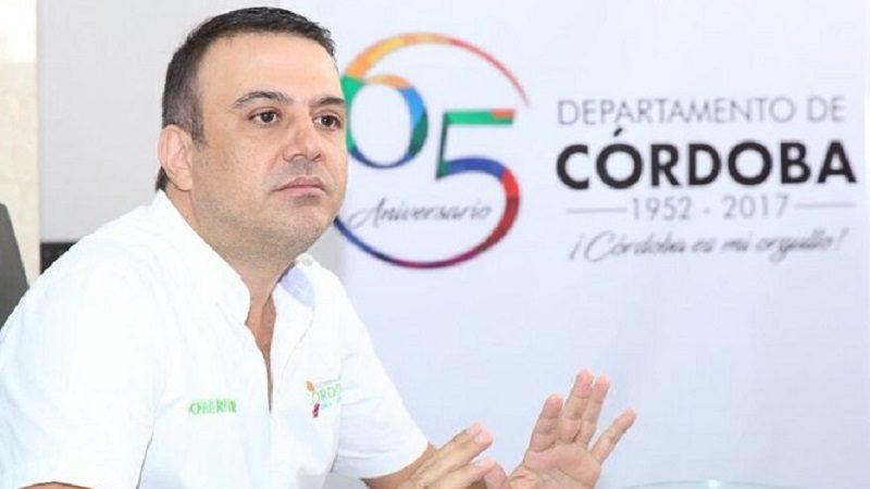 Por presunto caso de corrupción Procuraduría suspende al gobernador de Córdoba