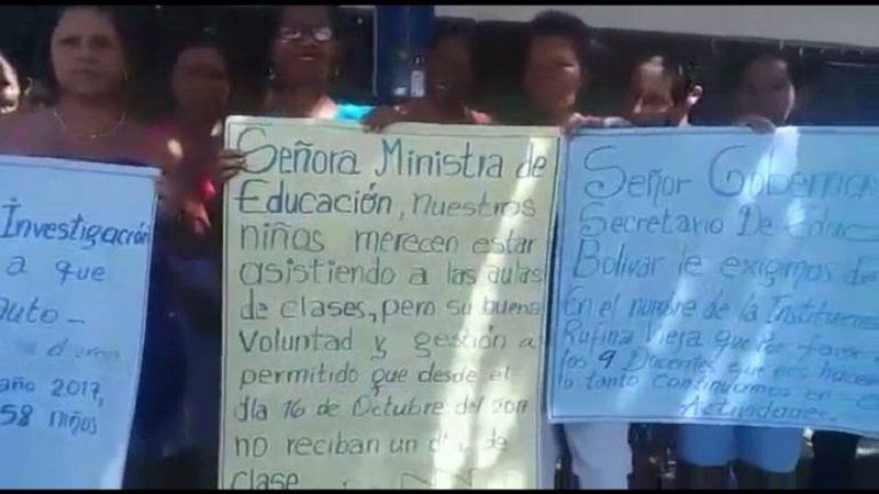Pro amenazas de muerte renuncian más de 300 docentes en Pinillos, Bolívar
