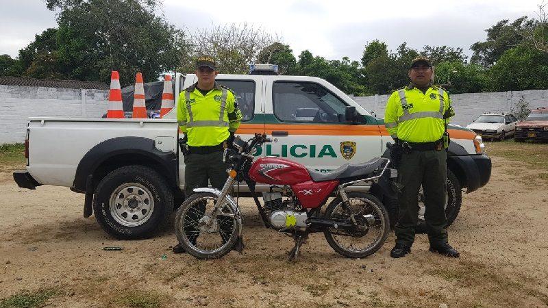 Recuperan dos motos que habían sido robadas en Sabanalarga y Baranoa