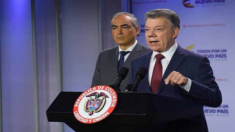 Santos ordenó el regreso a Colombia del jefe del equipo negociador con el Eln