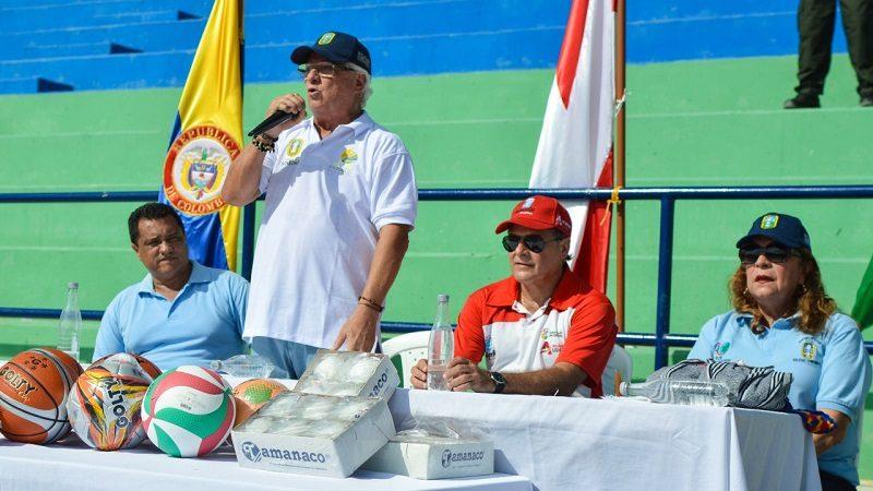 Soledad les da la bienvenida a 1.400 deportistas en la gran final de los Juegos Deportivos del Atlántico