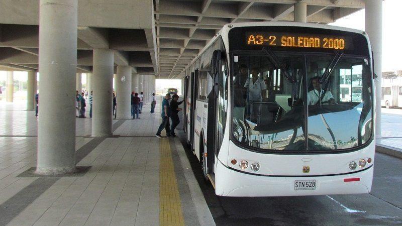 Transmetro aplica desvío en la ruta A3-2 Soledad 2000, por obras en la vía
