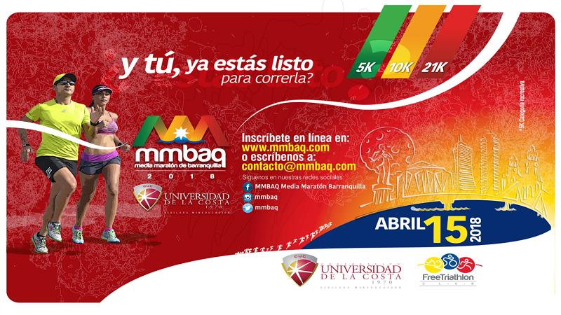 Abren inscripciones para la Media Maratón de Barranquilla